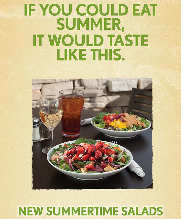 Noodles and Company Salad