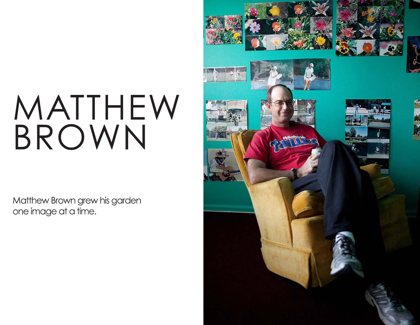 Matthew Brown, Photographer
