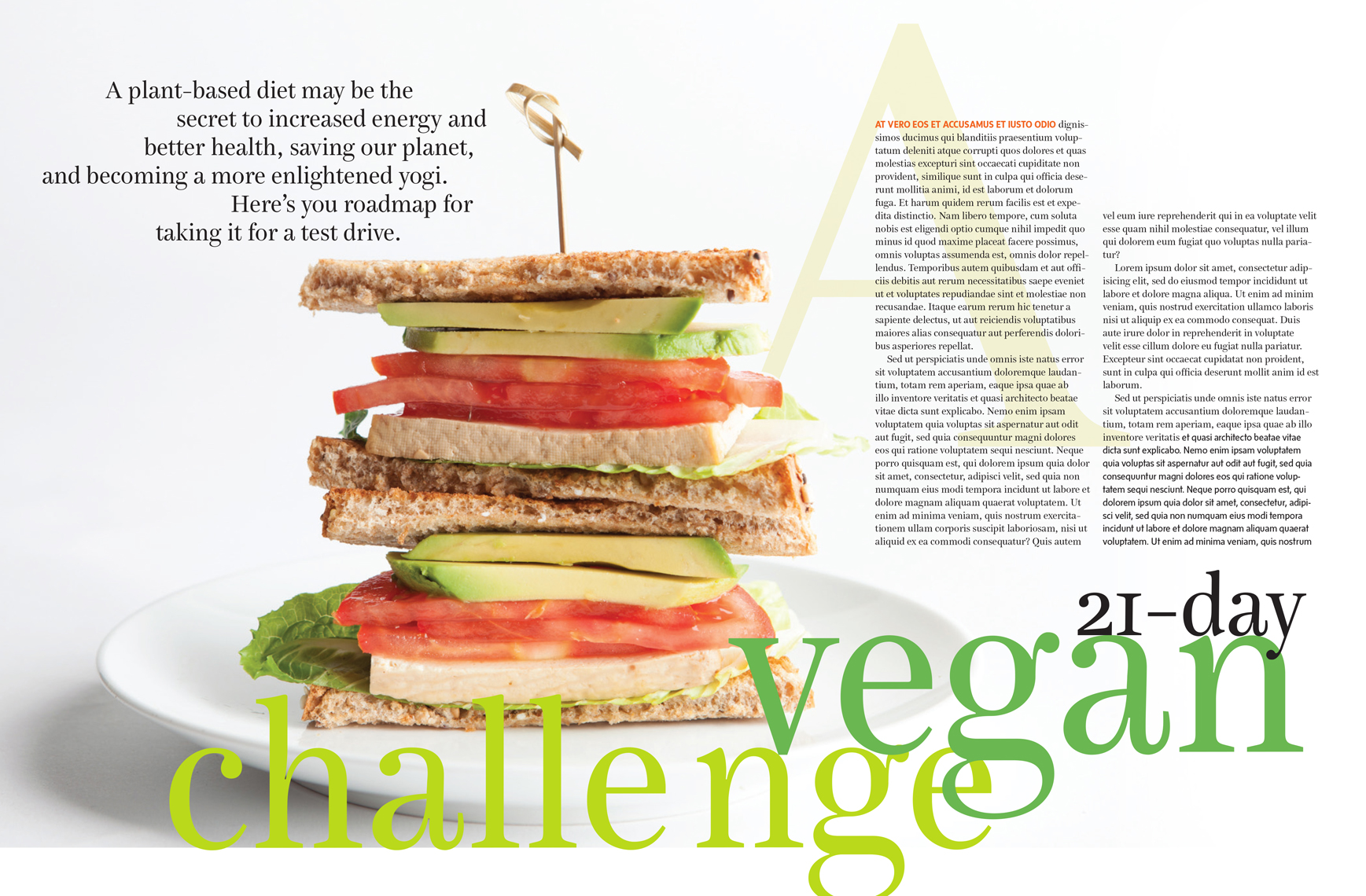 Yoga Journal Vegan Challenge